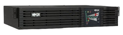 Tripp Lite SU2200RTXL2UA 2200VA 1600W UPS Smart Online Rackmount 110V/120V USB DB9 2URM, 7 Outlets