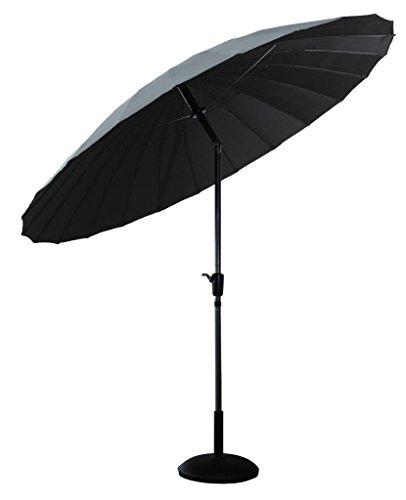 Cheap Price Shanghai Parasol Grey Crank Opening Cover Umbrella