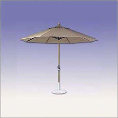 11' Umbrella w/ Crank Lift Fabric: Spa