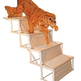 Marvelous Domestic Innovations Puppy EZ UP Collapsible Pet Stairs