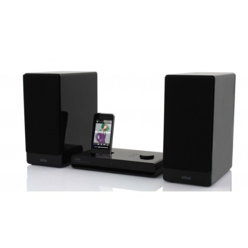 Eltax 30W Fidelio Apple iPod/iPhone 4 4S Stereo Speaker Dock Docking Station Mini Hi-Fi System MAC/PC with Class... Black Friday & Cyber Monday 2014
