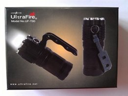 New Listing Ultrafire Uf-T90 4 U2 The Lamp Bead Promise Dimming Led Flashlight