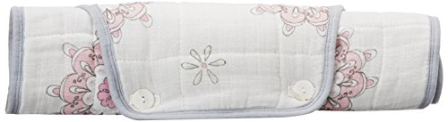 aden + anais classic portable changing pad cover, for the birds - medallion