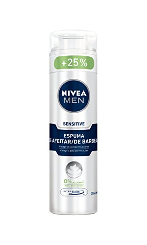 NIVEA - MEN SENSITIVE shaving foam 250 ml-unisex