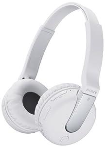 Sony Wireless Headset BTN200M mit NFC, Bluetooth 3.0für Smartphone - Weiß