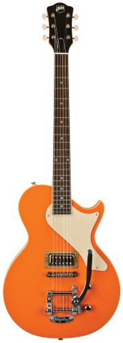Axl Al-1055-Mog Usa Belair Solid-Body Electric Guitar, Orange Sparkle