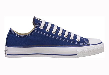 Converse Chuck Taylor All Star Lo Top Navy Canvas Shoes