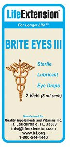 Brite Eyes III, 2 vials (5 ml each)