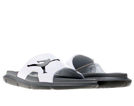 b83a560220104 Images of Nike Air Jordan RCVR Slide Mens Flip Flops 486995-101 White 8 M  US