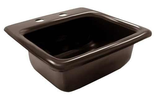 Plumbest S52-003 Ackralac Bar Sink, Black