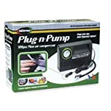 Slime COMP01 12-Volt Plug and Pump Tire Inflator