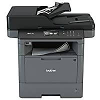 Brother MFCL5850DW Monochrome Laser All-in-One Printer with Duplex