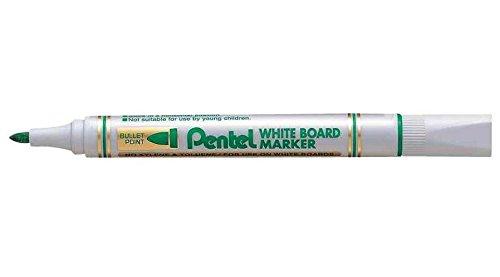 PENTEL marqueur pour tableau blanc MW85, pointe ogive, Vert