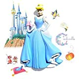 Wallables 3d Wall Decor With Bonus Decals, Cinderella From Disney Princesses