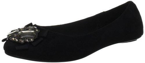 KG by Kurt Geiger Women's Molly Black Open Toe Flats 2814300109 3 UK
