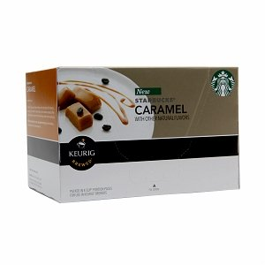 Starbucks Caramel Coffee K-Cup Portion Pack For Keurig K-Cup Brewers, 10 Count (Pack Of 3) front-558107
