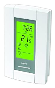 Honeywell aube th115 af 240s programmable thermostat for for Electric radiant heat thermostat