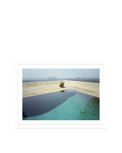 Photos.com by Getty Images Los Angeles, Poolside Artwork On Framed Paper