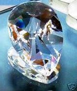 76mm Teardrop Suncatcher Crystal Prisms #873-76