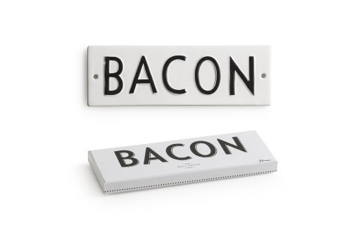 Rosanna Word Play Bacon Wall Art