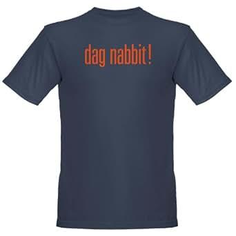 Amazon.com: CafePress dag nabbit Organic Men's T-Shirt dark - 2XL