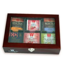 Best Prices! Wissotzky Tea 60 Dessert Flavored Teas in an Ebony Tea Chest - Flavors vary
