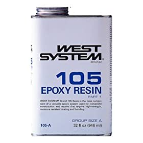 West System 105 Epoxy Resin (.98Gallon 10.3-Pounds)