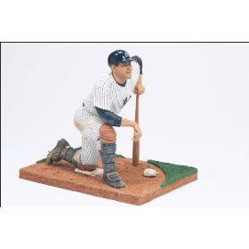 Yogi Berra New York Yankees Hard Batting Helmet McFarlane Cooperstown Collection Series One Action Figure at Amazon.com