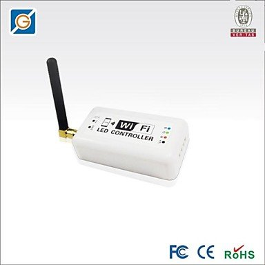 Zcl Led Wifi Rgbw Controller For Rgbw/Rgb Led Strip Light Dc12-24V 144-288W 3Ch 3A/Ch