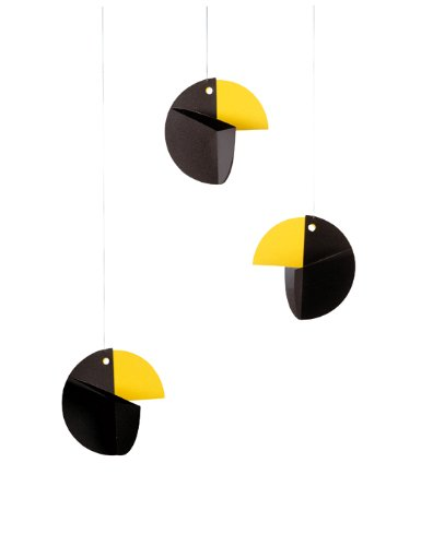 Flensted Mobiles Nursery Mobiles, Talking Tree, Black
