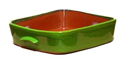 Terafeu 5-Quart Rectangular Baker, Provencial Green