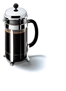 Bodum 1928-16 Chambord Coffee Maker - Stainless Steel - 8 Cup /1.0 L