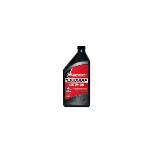 Genuine Mercury 1 Quart 4-Cycle 10W30 - 8M0078625 (10w30 Oil 1 Quart compare prices)