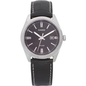 Dynamisme Casio Men's Classic Black Dial Strap Watch.