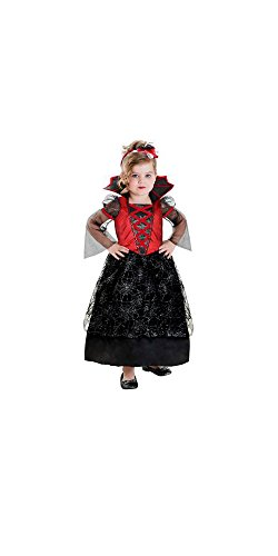 Red Vampiress Costume Toddler girl 2T