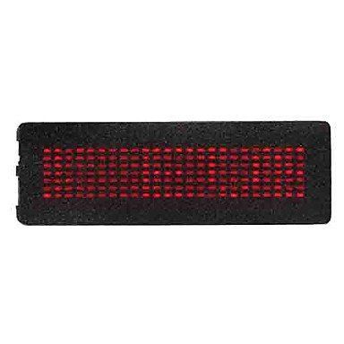 45Mw Red Plastic Led Mini Board / Led Name Card With Multi Modes Battery Powered