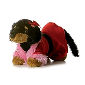 Dachshund Dog Plush Toy Sweet Pea Dress Up
