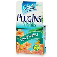 Buy Glade Plugins Gel Refill -Tropical Mist One Box Containing 3 refillsB0000DIWL8 Filter