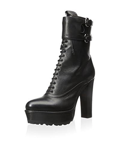 Prada Women's Leather Boot  [Black]