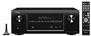 Denon AVR-X2000 7.1 Surround AV-Receiver (Internetradio, 4k-Video, HDMI, HD-Audio, AirPlay, 150 Watt) schwarz