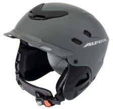Alpina Spice Ski Helm - Gun Matt - 50-54