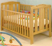East Coast Morston Cot Bed - Antique