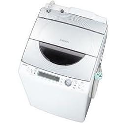 東芝 9.0kg 洗濯乾燥機 ホワイトシルバーTOSHIBA タテ型 ZABOON(ザブーン) AW-90SVM-WS