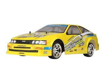 ChuangLong 1:10 PVC RC Car Toy with 4 pcs Wheel Hub Light (Yellow)