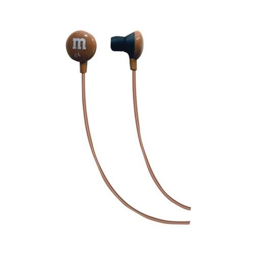 Maxell 190804 M&Ms(R) Earbuds (Brown) (Maxell 190804)