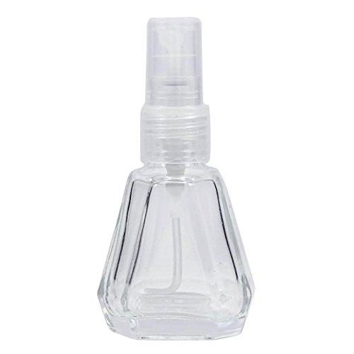 10 ml Rechargeable Essential Oil Bottles atomiseur spray gros bouteilles de parfum en verre transparent de parfum vide 100 Pcs Vaporisateur