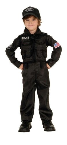 Costumes For All Occasions RU882813T Policeman Swat Toddler
