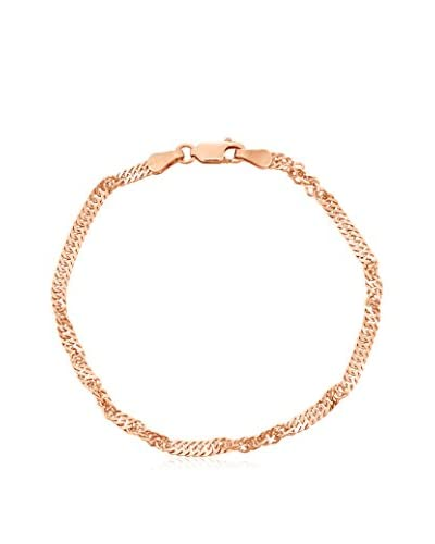 Diamante 14K Rose Gold-Plated Sterling Silver Disco Chain Bracelet