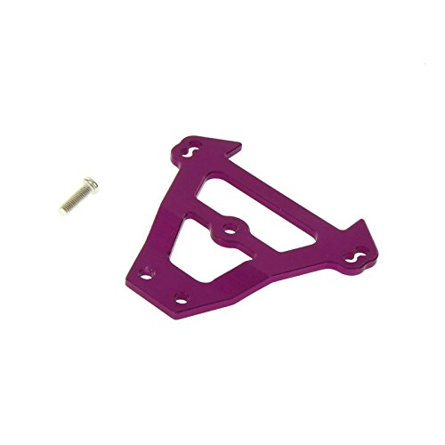 GPM Racing Front Bulkhead Tie Bar for 1:10 Traxxas E Revo + Other TRX Models, Purple