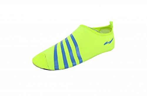Comfortable Men Barefoot Low Running Shoes Gym Footwear For Yoga Beach Volleyball Surfing Rafting Fluorescent Green_Us_11